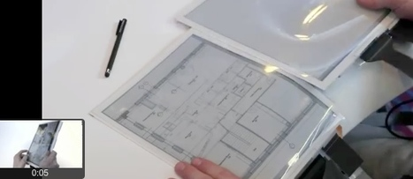 Plastic Logic, Queen's University and Intel demo a type of tablet display - that behaves a lot like flexible paper. | Complex Insight  - Understanding our world | Scoop.it