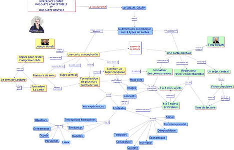 Êtes-vous un Concept Mapper, un Mind-Mapper ? | Mind Mapping au quotidien | Scoop.it