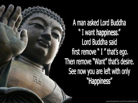 I want happiness | Quote for Thought | Scoop.it