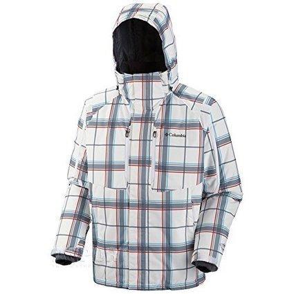 Columbia Men's Alpine Stunner Jacket, White Pla