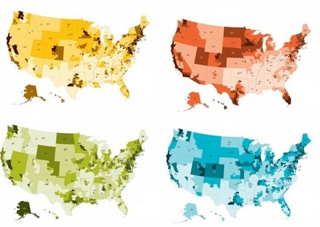 The Geography of Well-Being | green infographics | Scoop.it