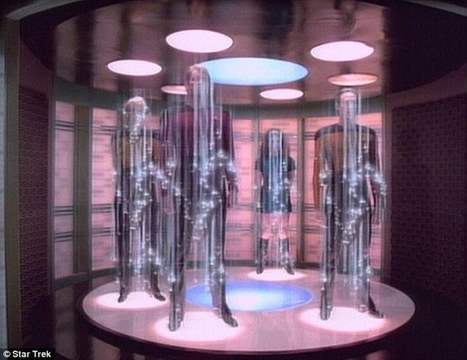 Star Trek-style teleportation IS possible says theoretical physicist - Daily Mail | The nature of Science | Scoop.it