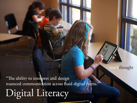 The Definition Of Digital Literacy | InformationFluencyTransliteracyResearchTools | Scoop.it