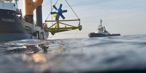 Eoliennes, hydroliennes... : où en sont les énergies marines en France ? | Eolien-Energies-marines | Scoop.it