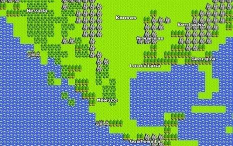 Google's April Fools' Day Prank: 8-Bit Google Maps | Social Media & Networking | Scoop.it