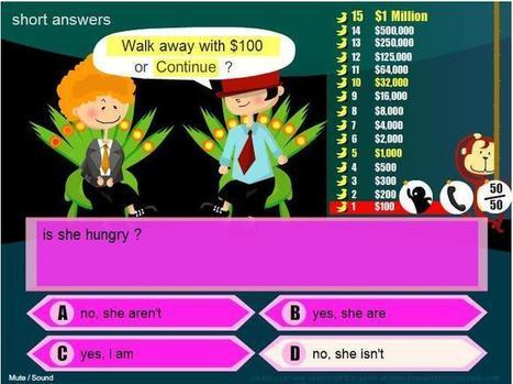 TIMSBOX_They're, there, their- Qui veut gagner des millions ?- grammaire niveau 4 college | Enseigner les langues avec les tice | Scoop.it