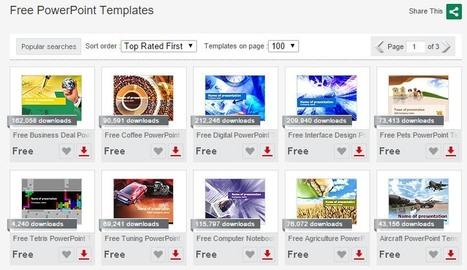 5 sitios web con plantillas PowerPoint gratuitas para crear presentaciones | Al calor del Caribe | Scoop.it