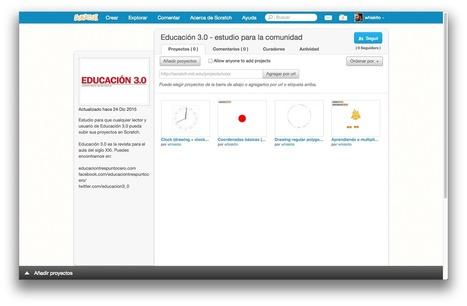 Paso a paso: crear un estudio de Scratch para tu clase - Educación 3.0 | #inLearning + HCI | Scoop.it
