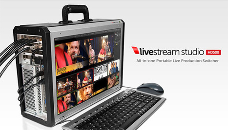Livestream Studio HD500 : All-in-one Portable Live Production Switcher | Video Breakthroughs | Scoop.it