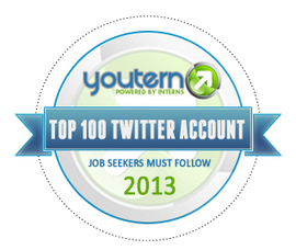 Top 100 Twitter Accounts Job Seekers MUST Follow: 2013 | The Savvy Intern by YouTern | Nonprofit jobs | Scoop.it