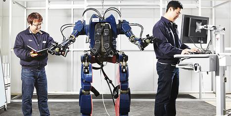 Hyundai dévoile son prototype d'exosquelette Iron Man Suit | Des robots et des drones | Scoop.it