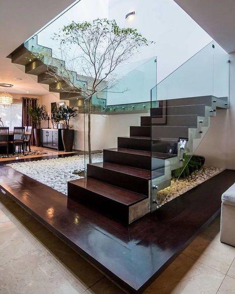 28 Model Tangga Rumah Mewah Bertingkat 2017 Ter
