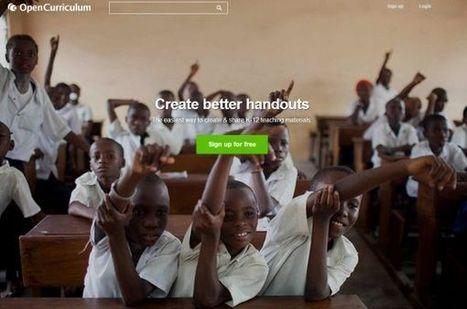 OpenCurriculum promueve la educación abierta mediante su librería de contenidos educativos | Tecnologias m-learning | Scoop.it