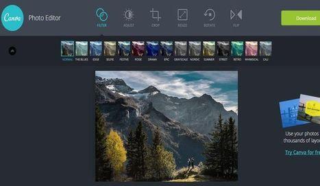 Canva Photo Editor: editor de fotos online de los creadores de Canva | Innovación,Tecnología y Redes sociales | Scoop.it