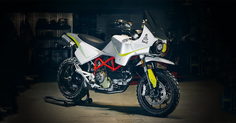 Dakar Look: Walt Siegl restyles the Ducati Hypermotard | Ductalk Ducati News | Scoop.it