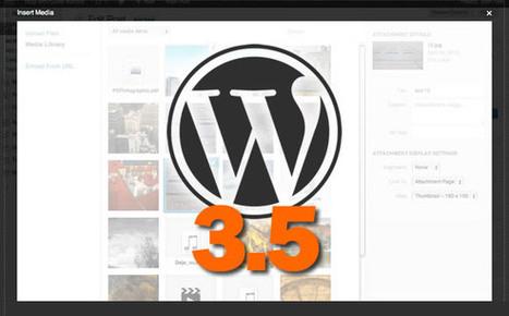 WordPress 3.5 : une dernière version disponible dès aujourd'hui ? | Référencement internet | Scoop.it