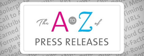 Press Release Tips from A to Z [Infographic] | Media Relations | Scoop.it