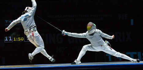 The science behind the Olympic sport of fencing | Homeschooling High School | Scoop.it
