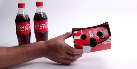 Cardboard Vr Brille Basteln : Google cardboard vr brille aus cola verpackung