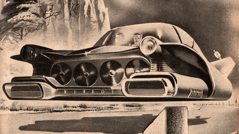 31 Levitating Vehicles From the Dawn of the Hovercraft | Outbreaks of Futurity | Scoop.it