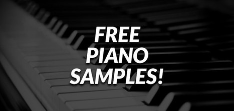 Free Piano Samples! | Bedroom Producers Blog | DIY Music & electronics | Scoop.it