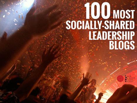The 100 Best Leadership Blogs Based on Social Shares « Leadership In Action | Leadership Talent Management | Scoop.it