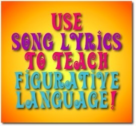 Mrs. Orman's Classroom: Use Popular Music to Teach Poetic Devices & Figurative Language | Music Therapy | Scoop.it