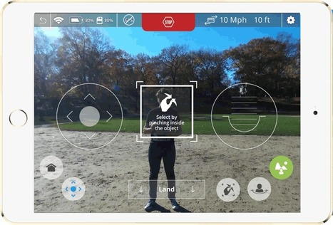 Neurala Releases World's First Software App To Create Autonomous Self-Flying Drone Camera Without Using Specialized Hardware | Neurala | Robolution Capital | Scoop.it