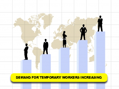 Demand for Temporary Workers Increases | Contingent Labor | Scoop.it