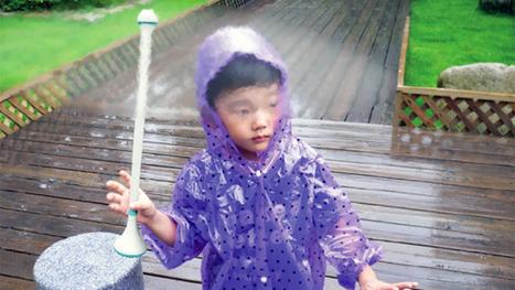 Invisible Umbrella Repels Raindrops With Air | Social Justice and Media | Scoop.it