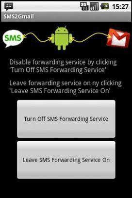 Faire suivre SMS et appels manqués de son téléphone Android à Gmail, SMS2Gmail   Ballajack   mlearn   Scoop.it