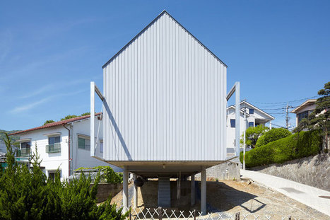 house on PILOTIS - 4N by ninkipen! - designboom | The Architecture of the City | Scoop.it