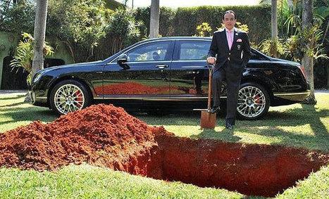 Enterrement en grande pompe | digistrat | Scoop.it
