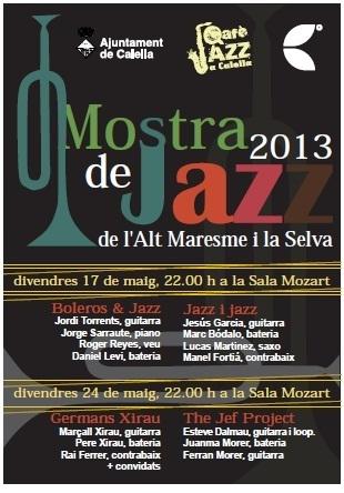 1era Mostra Jazz Alt Maresme i la Selva   Actualitat Jazz   Scoop.it