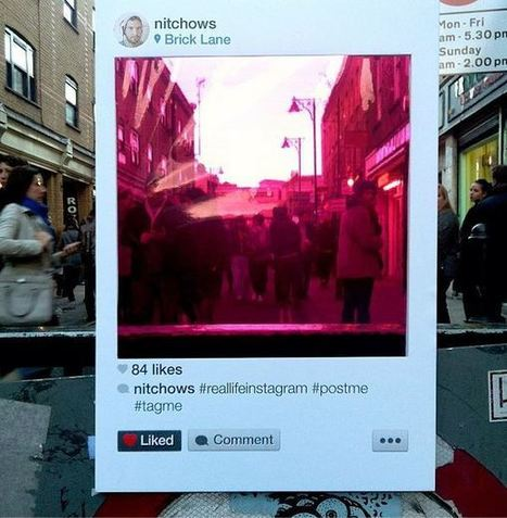 Des filtres Instagram dans la ville par l'artiste Bruno Ribeiro | Experience Transmedia | Transmedia news… | Experience Transmedia | Scoop.it