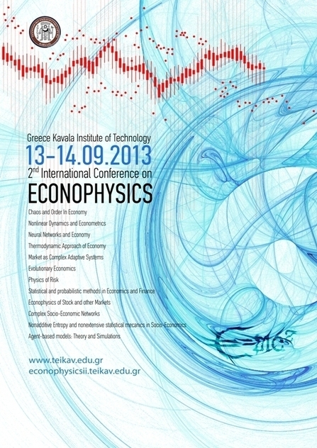 2nd International Conference on Econophysics | MelissaRossman | Scoop.it