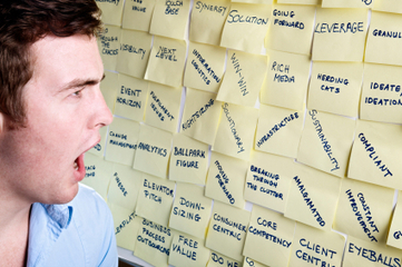 Stick A Fork In Business Buzzwords: 15 Common Phrases To Kill | Human Resources | Scoop.it