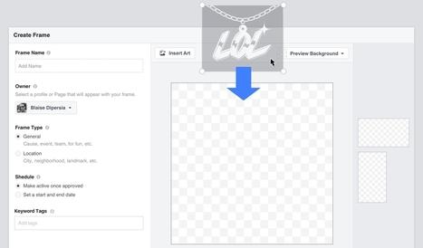 Facebook : créer un cadre personnalisé pour les photos et les vidéos - Blog du Modérateur | Animation Numérique de Territoire | Scoop.it
