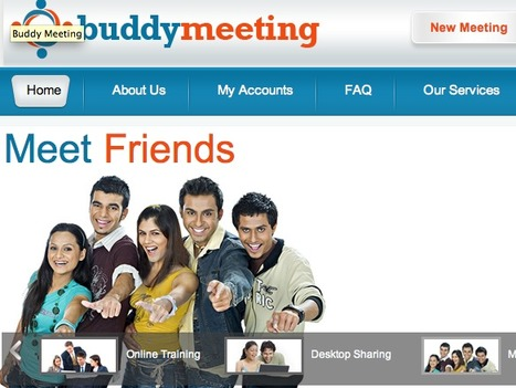 Free Cloud-Based Web Conferencing for Up To 25 People with BuddyMeeting | Opensource (Free or Open Code) | Scoop.it