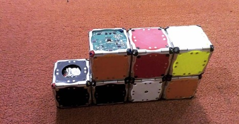 """Self-Assembling Cubes Could Be First Step Toward Real Transformers 