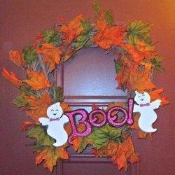 Super Simple Halloween Craft Wreath | Crafts & DIY | Scoop.it