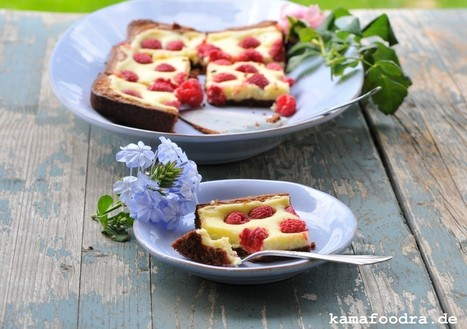 Himbeer Cheesecake Brownies | Kamafoodra | Brownies, Muffins, Cheesecake & andere Leckereien | Scoop.it