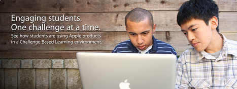 Apple - Education - Challenge Based Learning | Mobile Learning & Content | Scoop.it