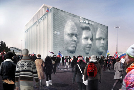 Olympic Pavilion Brings Visitors' Faces to Life in 3D | World News | Scoop.it