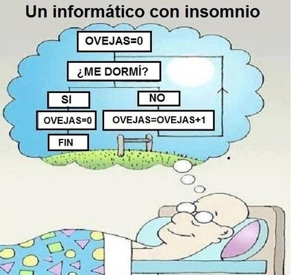 Humor Gráfico: Informático con insomnio | TIC JSL | Scoop.it