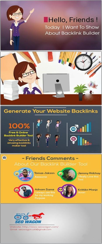 free backlink builder' in Free article rewriter tool
