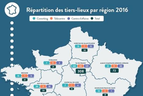 Les tiers-lieux s'imposent en France   Territoires et THD : usages, innovation, transformation et développement numériques   développement économique et territoires   Scoop.it