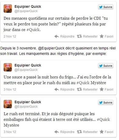 Conseil Web Social » Dialogue social digital : le cas Quick | Social brands | Scoop.it