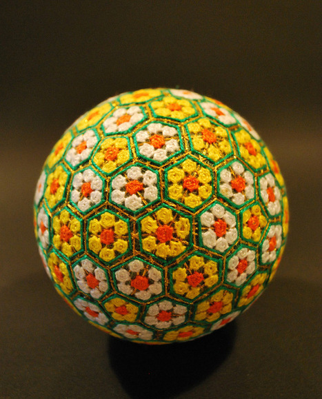 A Huge Collection of Embroidered Temari Spheres by an 88-Year-Old Grandmother   Colossal   Heron   Scoop.it