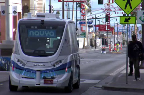 La navette autonome du français Navya prolonge son séjour à Las Vegas | Vous avez dit Innovation ? | Scoop.it